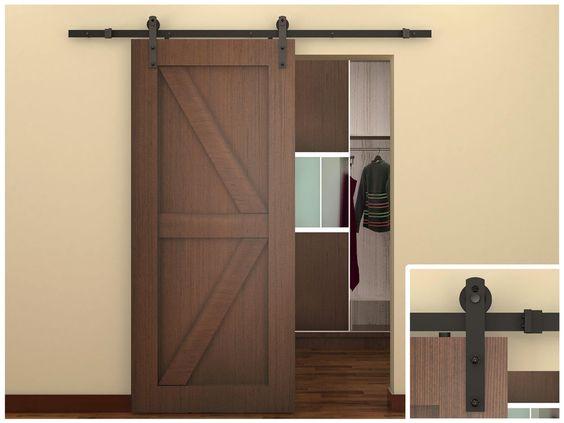 6 Creative Sliding Closet Door Design Ideas Barn Style Doors Sliding Door Hardware Diy Barn Door Hardware