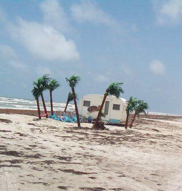 One for the beach (Seen on the beach at Port Aransas, TX)