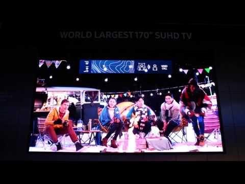 [CES 2016] Samsung's Future TV Zone - No Web Agency