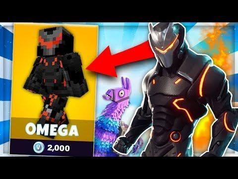 Skin Omega De Fortnite Dans Minecraft Skywars