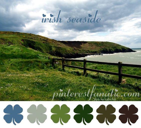 color palette ::: irish seaside