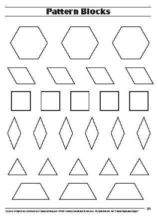 math worksheet : another template to make your own pattern blocks  making mine  : Pattern Block Fractions Worksheet