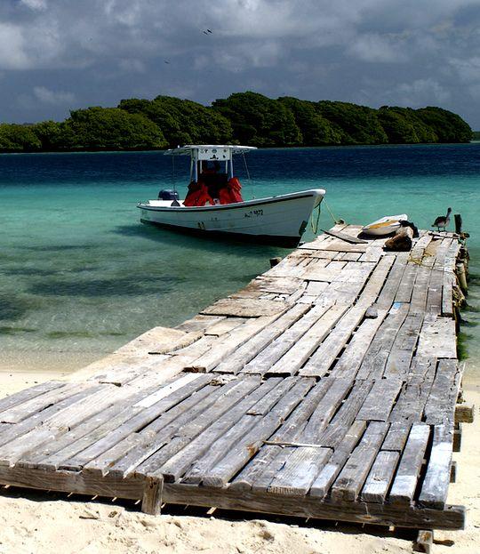 Playas virgenes en Sudamérica