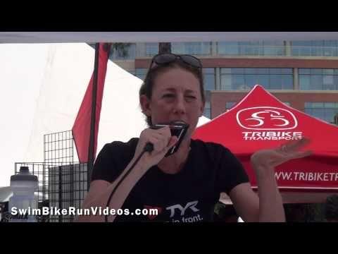 Chrissie Wellington describes her biggest achievement in Ironman triathlon. LOVE HER!