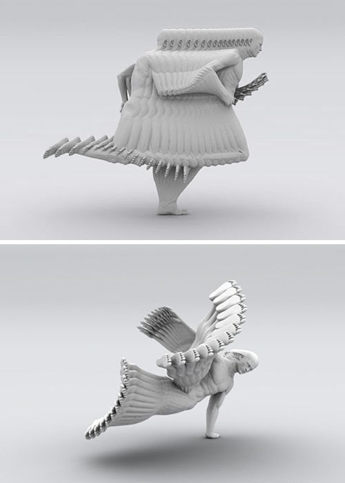 awesome sculptures by peter jansen: