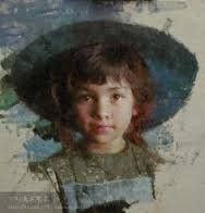 Pintura a óleo sobre tela de Morgan Weistling