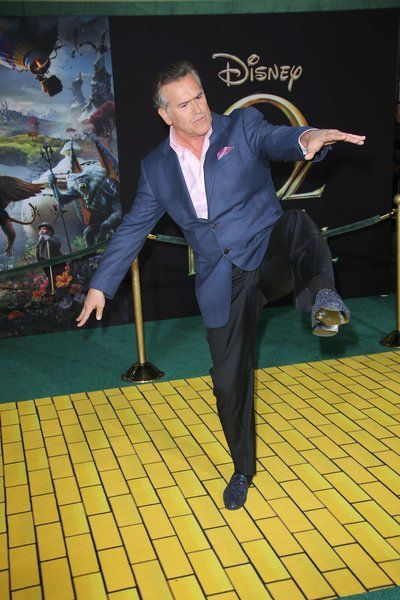 Bruce Campbell - I think he's been doing yoga!