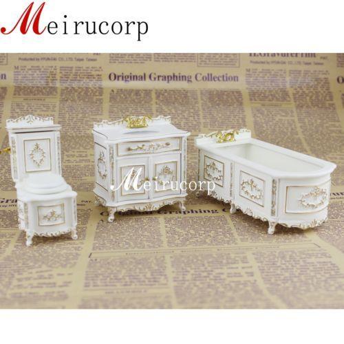 Dollhouse Miniatures 1:12 Scale White Sink #CLA10552
