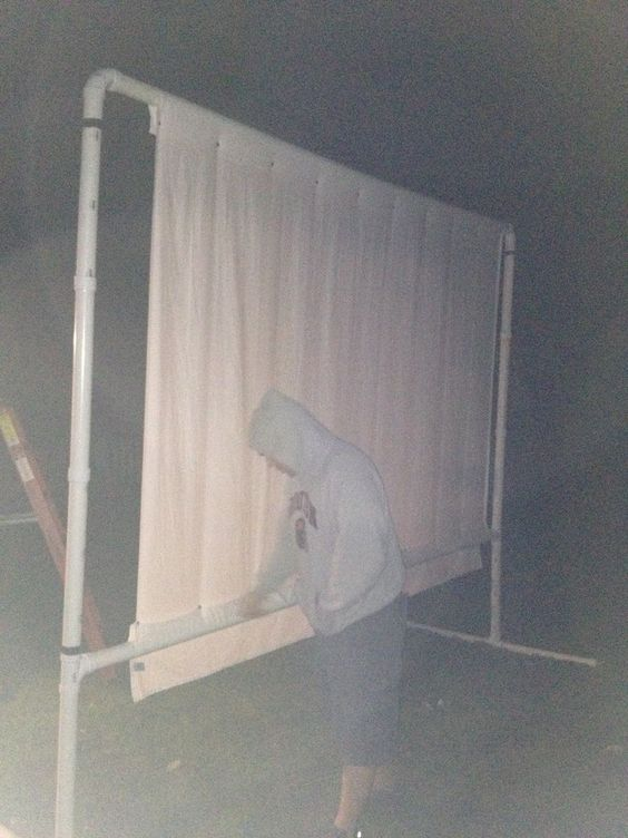 diy outdoor projector screen backyard projector screens backyard