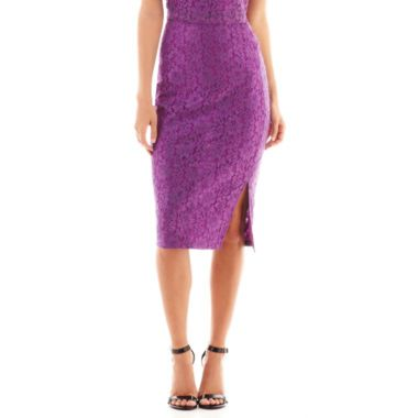 Bisou Bisou® Lace Pencil Skirt found at @JCPenney | WISH LIST ...
