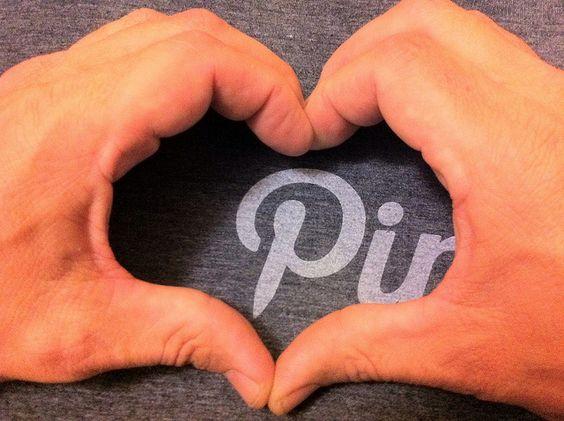 Love my Pinterest t-shirt!