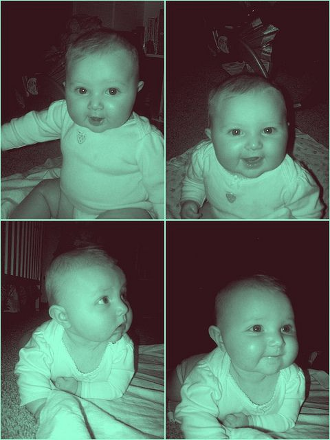 My baby girl is 6 months today!
