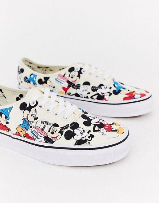 Vans x Mickey Mouse Authentic plimsolls