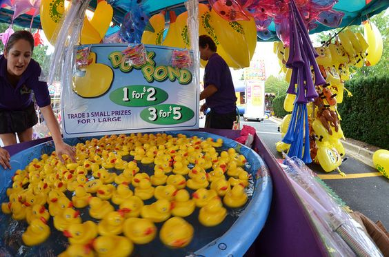 Carnival Game Ideas Duck Pond Children Pick A Duck And