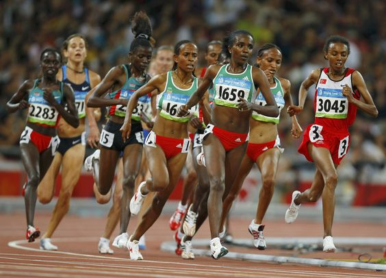 Tirunesh Dibaba / women's 10,000m Beijing 2008