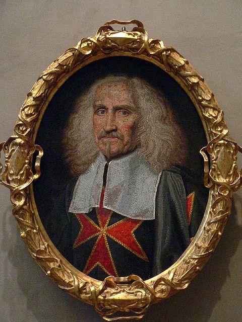 Glass Mosaic Portrait of Camillo Rospigliosi Italian Callandra 1630