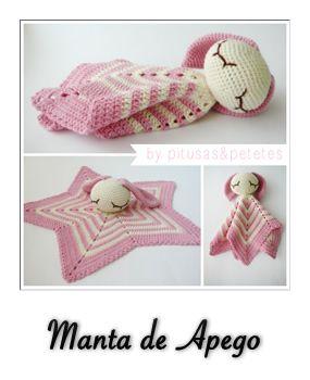 Amigurumi Manta De Apego : patron gratis amigurumi manta de apego Crochet ...
