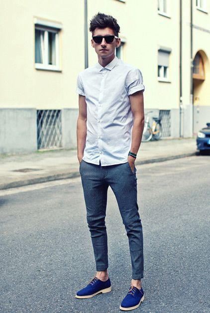 Skinny Fit For Spring - Mens Fashion Magazine
