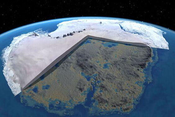 Antarctica: een tropisch paradijs dat bij onze voorouders bekend is en door de geschiedenis 'vergeten' 34