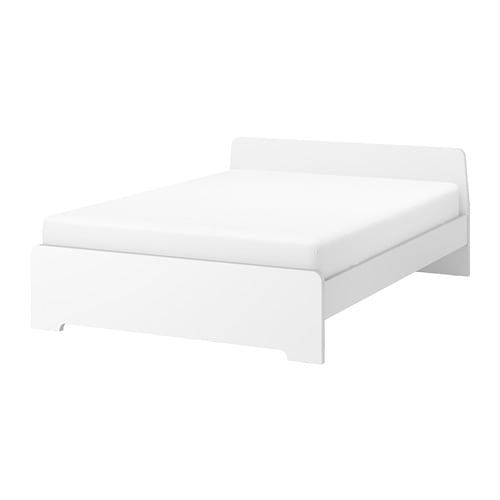 Askvoll Bed Frame White 140x200 Cm Adjustable Beds Bed Frame