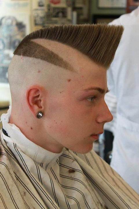 Hairstyles haircuts Pompadour and Men hair on Pinterest