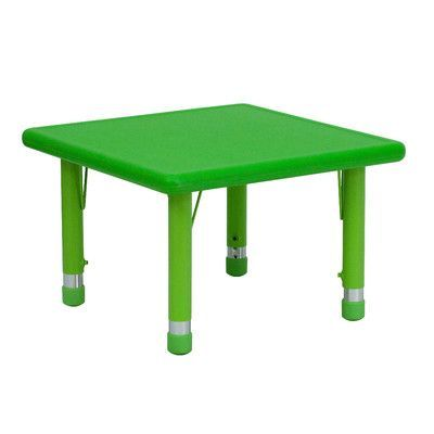 "Flash Furniture 24"" Square Activity Table Finish:"