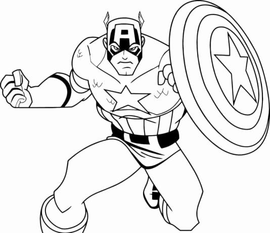 Super Hero Coloring Page Luxury Coloring Coloring Pages For Kids