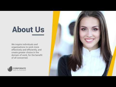 Corporate Business Company Profile - After Effects Templates from - profile templates