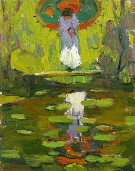 Gertrude Fiske (1878-1961) American Impressionist Painter ~ Blog of an Art Admirer