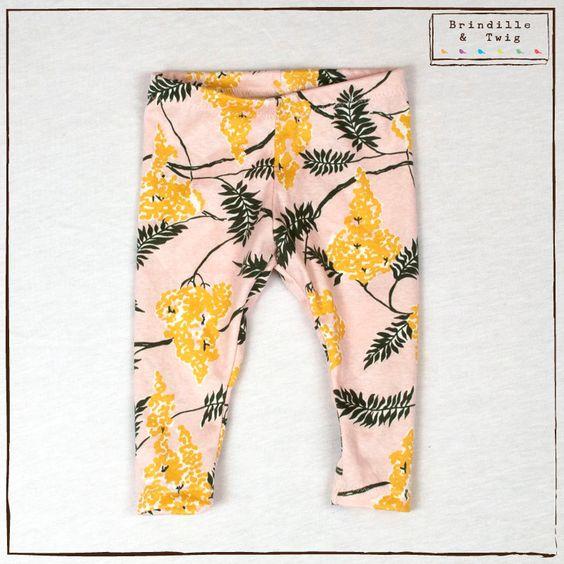 Toddler leggings sewing pattern // pdf digital download // photo tutorial // sizes Preemie to 6T ...