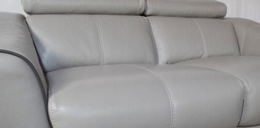 Elixir Leather Grey 3 Seater 2 Seater Sofa 40 Seater Sofa Sofa 2 Seater Sofa