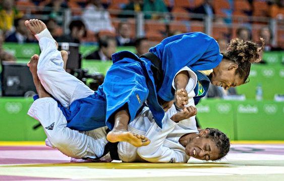Rafaela Silva judô (Foto: Marcio Rodrigues/MPIX/CBJ) Medalha de OURO para o Brasil