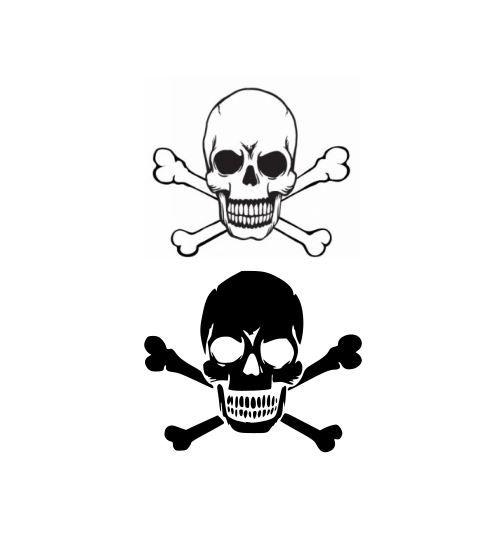 Halloween Crossbones Svg Crossbones Svg Bones Svg Bone Svg Svg Crossbones Free Svg