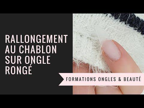 Comment Rallonger Un Ongle Rongé Sur Chablons Tuto Complet
