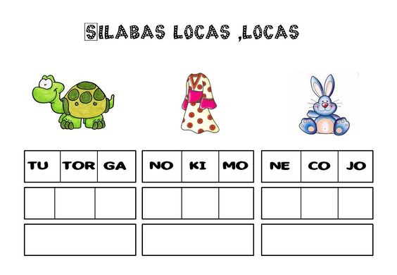 Silabas locas para primer y segundo grado - http://materialeducativo.org/silabas-locas-para-primer-y-segundo-grado/