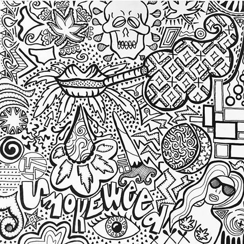 Download Or Print This Amazing Coloring Page Stoner Coloring