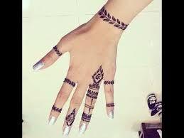 رسم الحنه على اليد Google Search Hand Henna Henna Hand Tattoo Hand Tattoos