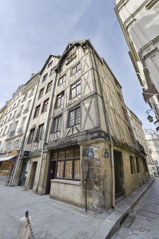 Paris au Moyen Age: Maisons rue François Miron (4e)