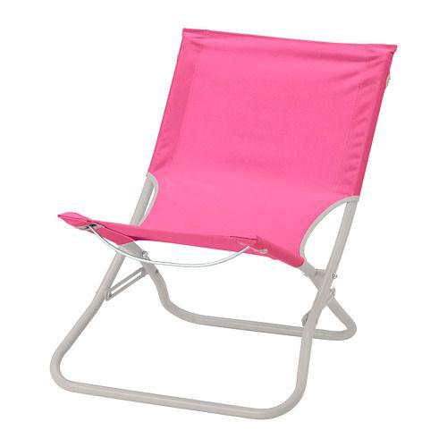 Hamo Beach Chair Pink Beach Chairs Chair Ikea