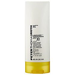 Peter Thomas Roth - Uber-Dry Sunscreen SPF 30  #sephora (Really does have a strange matte touch to the cream when applied to skin, thickish texture)