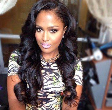 Amazing Long Weave Hairstyles Long Weave And Weave Hairstyles On Pinterest Short Hairstyles For Black Women Fulllsitofus