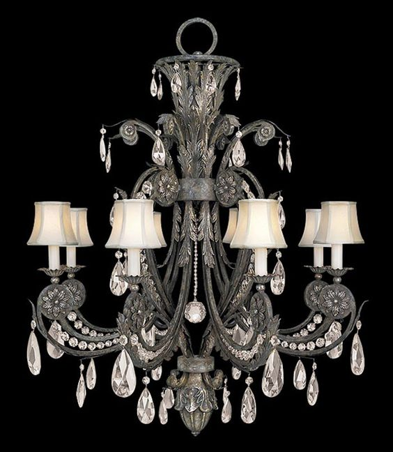 If you know me, you know I LOVE Chandeliers