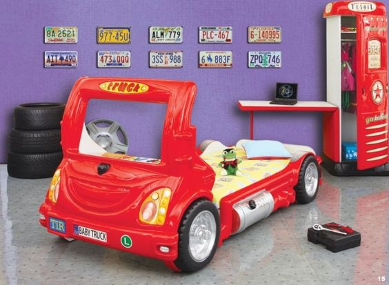 http://www.robedacartoon.it/letto-singolo-camion.html