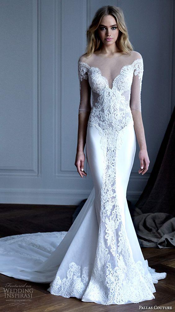 Pallas Couture 2016 Wedding Dresses — La Haute Bijoux Bridal Collection: