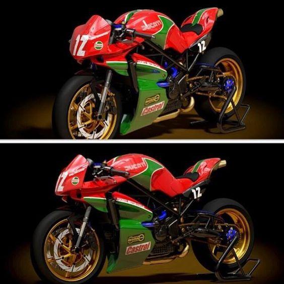 Serious Ducati ......