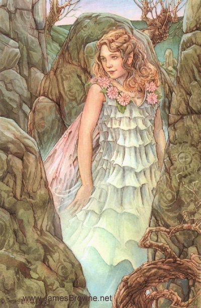 Celtic Fae - by James Browne: