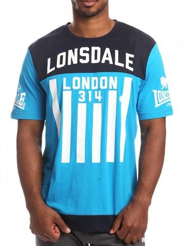 Lonsdale Feldman Tee - blue #lonsdale #tee #shirt