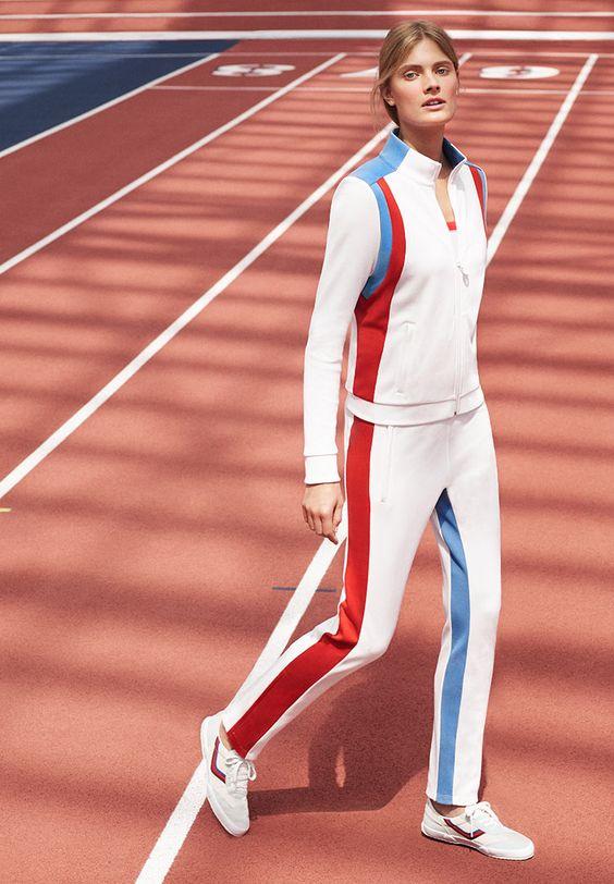 Tory Sport Color-block Track Jacket and Track Pants #doputitingear - gebrauchte küchen frankfurt