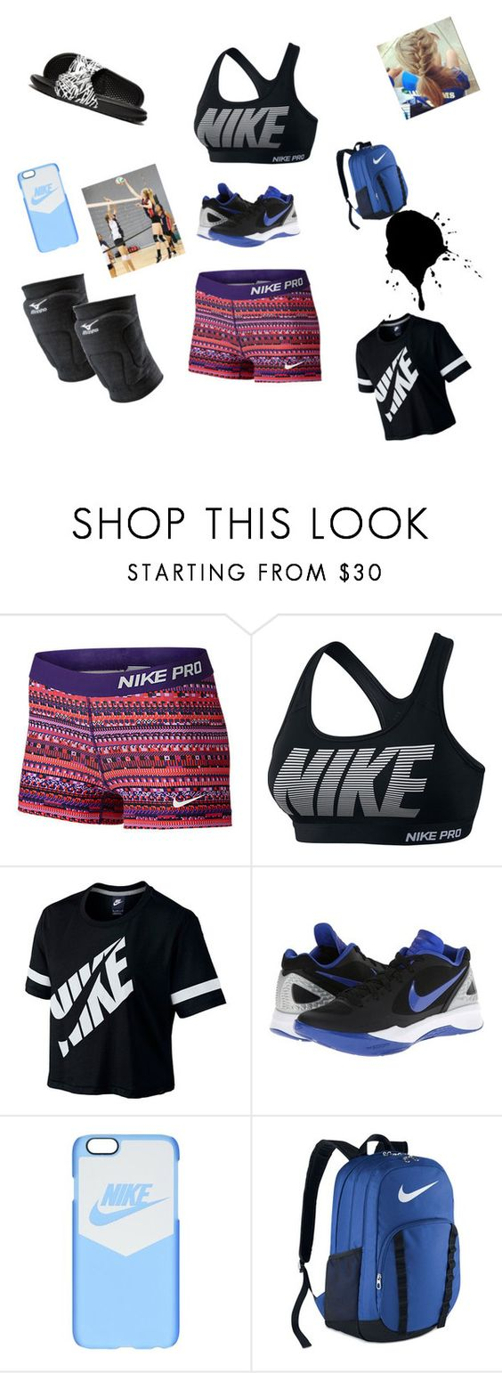 """""""My volleyball outfit"""" by isabellajailyn on Polyvore featuring NIKE, Mizuno and KENZI"""
