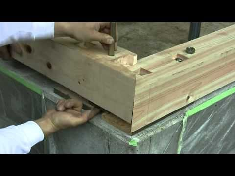 Japanese joinery, Joinery and Foundation on Pinterest